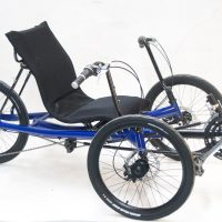 Avenue recumbent Trike blue